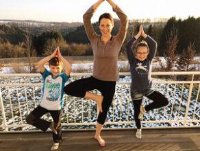Yoga für Mutter und Kind